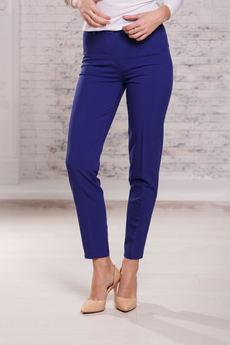 Женские брюки синего цвета Angela Ricci